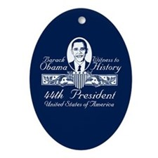 President Obama Victory Christmas Ornament