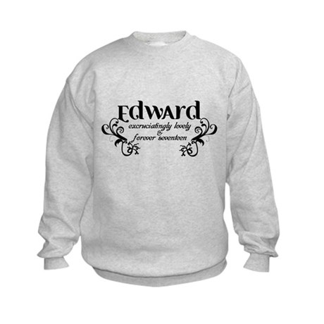 Twilight Edward Lovely Kids Sweatshirt