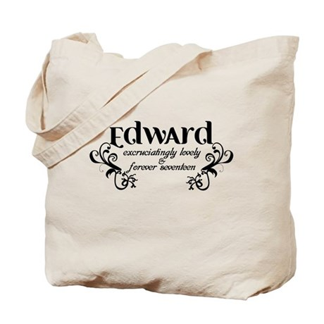 Twilight Edward Lovely Tote Bag