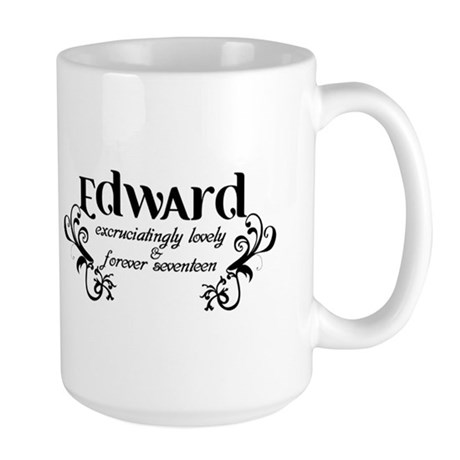 Twilight Edward Lovely Large Mug