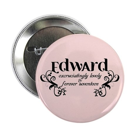 "Twilight Edward Lovely 2.25"" Button (10 pack)"