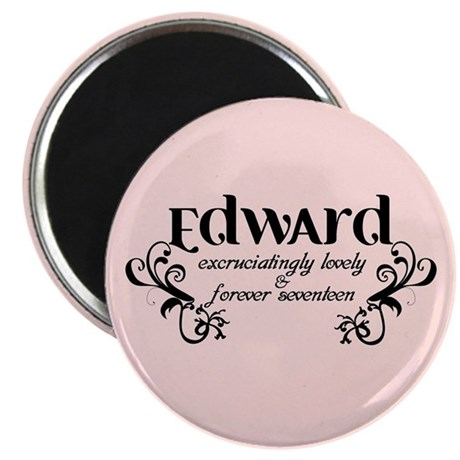"Twilight Edward Lovely 2.25"" Magnet (100 pack)"
