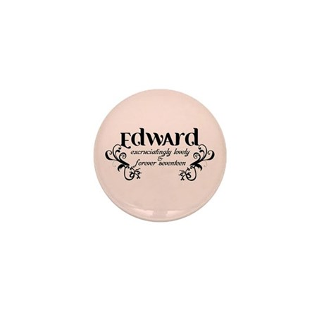 Twilight Edward Lovely Mini Button