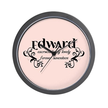 Twilight Edward Lovely Wall Clock