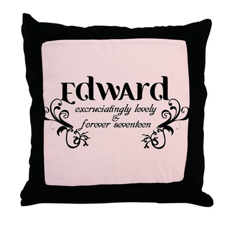 Twilight Edward Lovely Throw Pillow