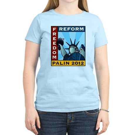 Palin 2012 Liberty Women's Light T-Shirt
