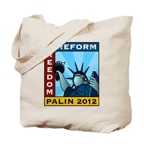 Palin 2012 Liberty Tote Bag
