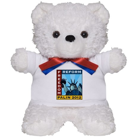 Palin 2012 Liberty Teddy Bear