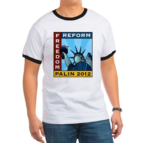 Palin 2012 Liberty Ringer T