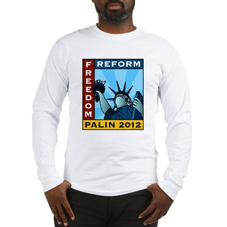 Palin 2012 Liberty Long Sleeve T-Shirt
