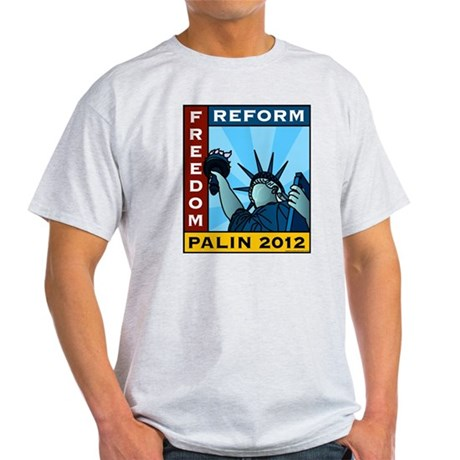 Palin 2012 Liberty Light T-Shirt