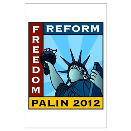 Palin 2012 Liberty Large Poster