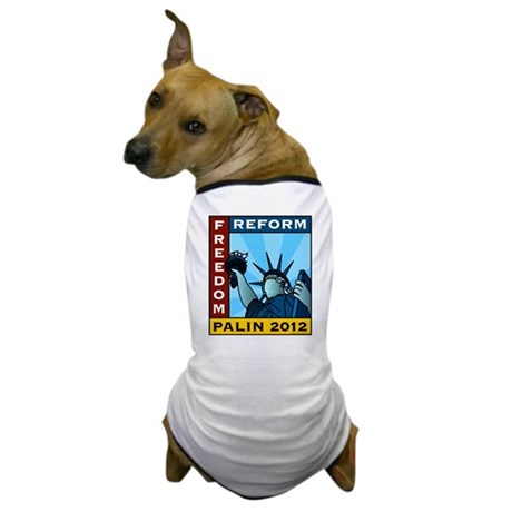Palin 2012 Liberty Dog T-Shirt