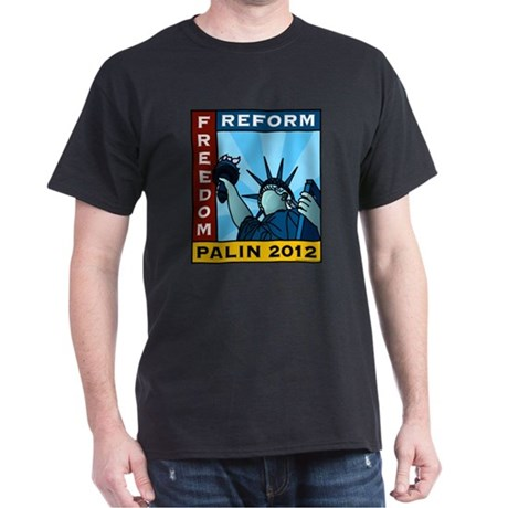 Palin 2012 Liberty Dark T-Shirt