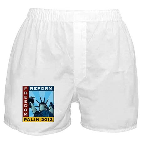 Palin 2012 Liberty Boxer Shorts