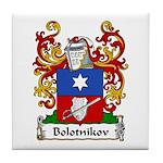 Bolotnikov Family Crest Tile Coaster