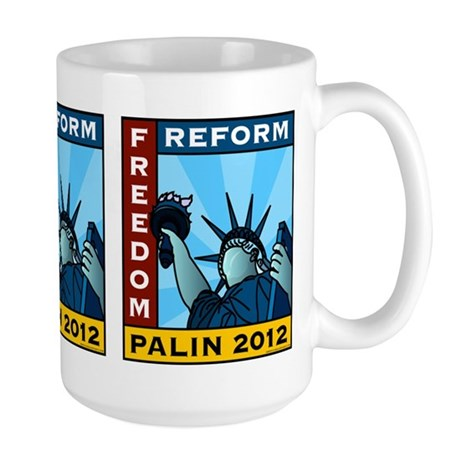 Palin 2012 Liberty Large Mug