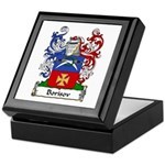 Borisov Family Crest Keepsake Box