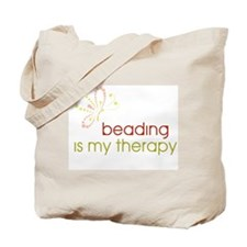 Beading is my Therapy Tote Bag
