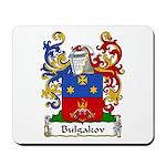 Bulgakov Family Crest Mousepad