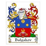 Bulgakov Family Crest Small Poster