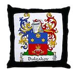 Bulgakov Family Crest Throw Pillow