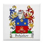Bulgakov Family Crest Tile Coaster