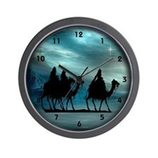 Christmas Wisemen Wall Clock