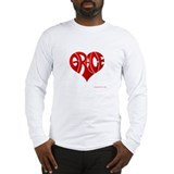 Grace (Red Heart) Long Sleeve T-Shirt