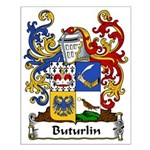 Buturlin Family Crest Small Poster