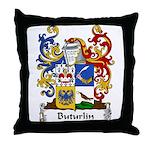 Buturlin Family Crest Throw Pillow