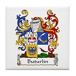 Buturlin Family Crest Tile Coaster