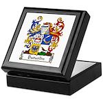 Buturlin Family Crest Keepsake Box