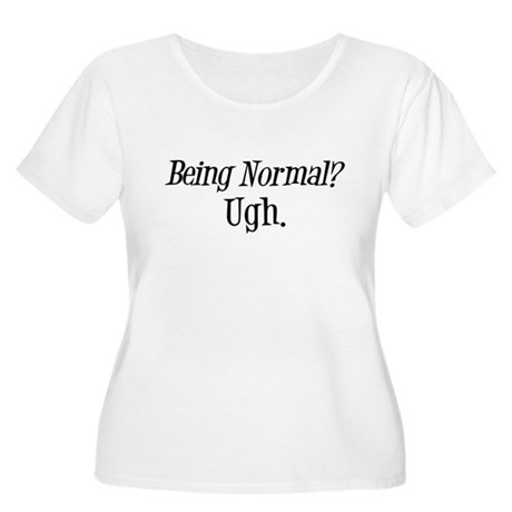 Normal Ugh Twilight Women's Plus Size Scoop Neck T