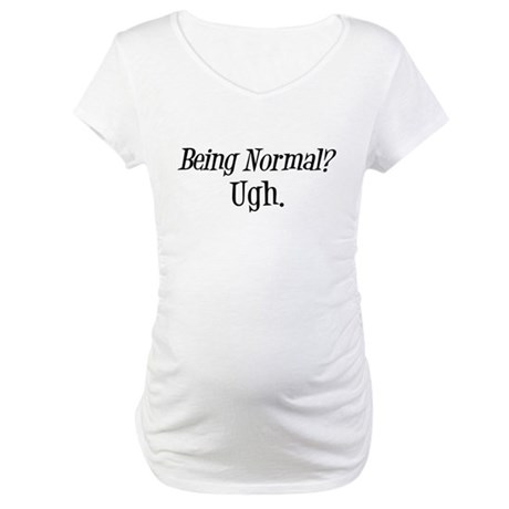 Normal Ugh Twilight Maternity T-Shirt