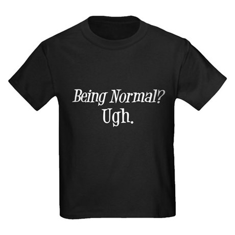 Normal Ugh Twilight Kids Dark T-Shirt