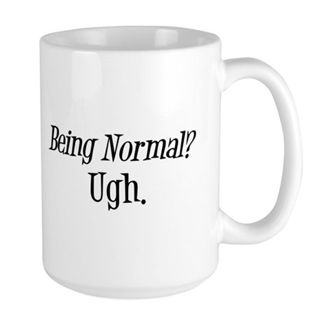 Normal Ugh Twilight Large Mug