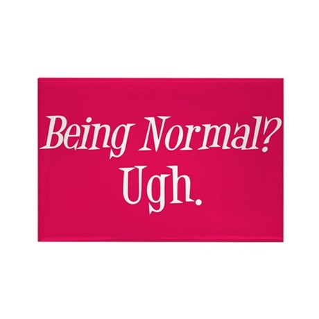 Normal Ugh Twilight Rectangle Magnet (100 pack)