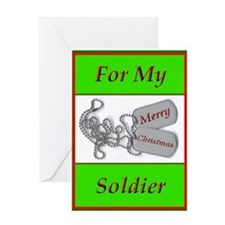 Soldier's Christmas Card