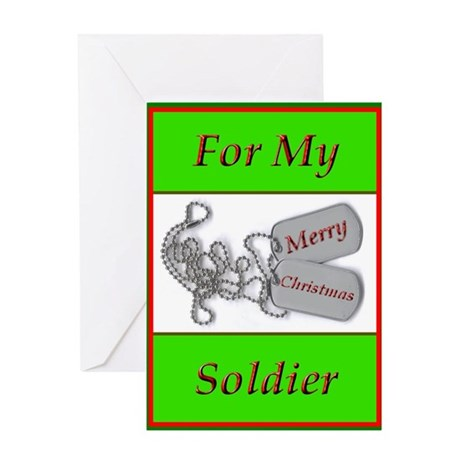 Soldiers Christmas Card by freefalldesign T9cLqc2s