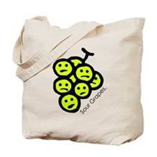 'Sour Grapes' Tote Bag