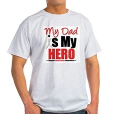 Lung Cancer Hero (Dad) T-Shirt