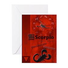 Scorpio Greeting Cards (Pk of 10)