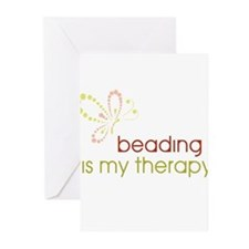 Beading is my Therapy Greeting Cards (Pk of 20)