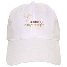 Beading is my Therapy Baseball Cap
