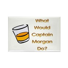 What Would Captain Morgan Do? Rectangle Magnet