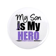 "My Son is My Hero (HL) 3.5"" Button"