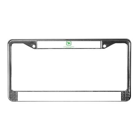 Schapendoes License Plate Frame