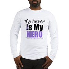My Nephew is My Hero (HL) Long Sleeve T-Shirt