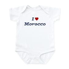 I HEART MOROCCO Infant Bodysuit